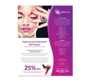 Resume PSD: Spa & Beauty Therapist Resume Templates
